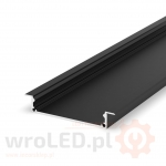 Profil LED - P21-1 Tech Light CZARNY