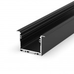 Profil LED - P22-1 Tech Light CZARNY