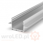 Profil LED - P22-2 Tech Light SREBRNY