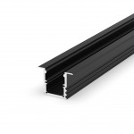 Profil LED - P25-1 Tech Light CZARNY