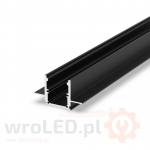 Profil LED - P25-2 Tech Light CZARNY