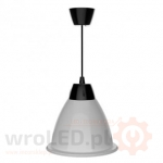 Lampa LED Alabama Szara 35W