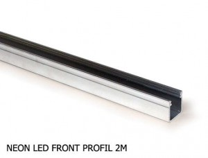 MINI NEON LIGHT FRONT PROFIL ALUMINIOWY 2m
