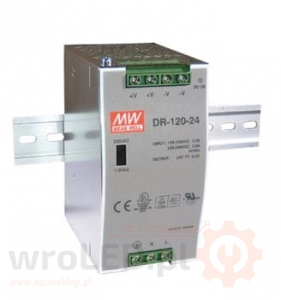 Zasilacz Mean Well DR-120W 12V 10A