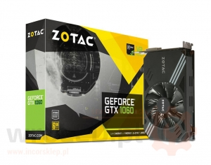 Zotac GeForce GTX1060 MINI 6GB GDDR5 (192 Bit) 3xDP, HDMI, DVI, BOX