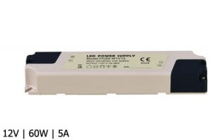 ZASILACZ LED PC IP40 12V 5A 60W