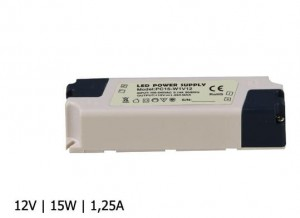 ZASILACZ LED PC IP40 12V 1,25A 15W