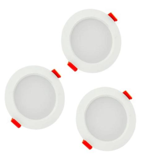 3x Oprawa Lampa Sufitowa Led Do łazienki Ip44