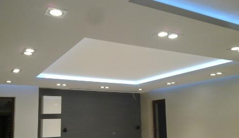 Nowoczesny Pomysł Na Oświetlenie Salonu Ledami Aranżacje
