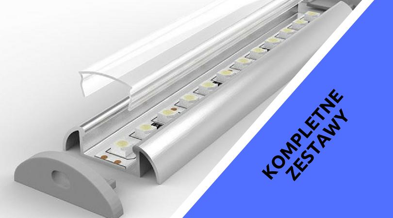 Inne rodzaje Profile aluminiowe LED - Sklep internetowy Wroled Wrocław FA94